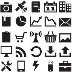 Set internet icons.