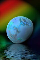 Spiritual globe