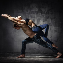 deux danseurs
