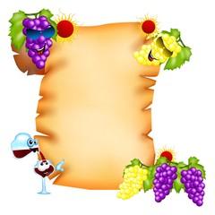 pergamena uva