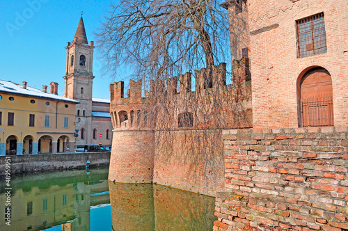 water in the moat