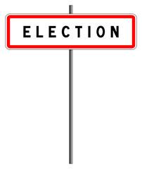 Panneau election