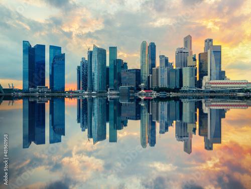 Fotobehang Singapore Singapour