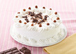 cream chocolate fruit cake sweet food dessert
