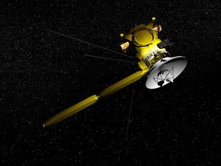 Cassini spacecraft - 3D render