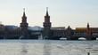 Berlin Oberbaumbrücke vid 02