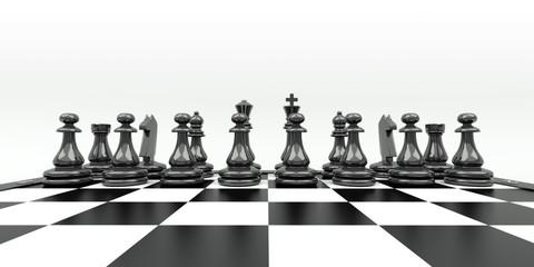 Schachbrett, Schach, schwarz, Figuren, Spiel