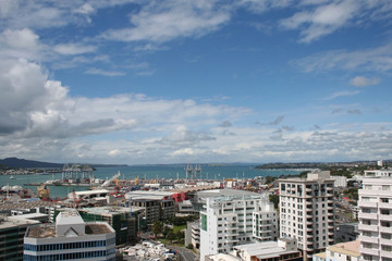 Auckland panoramic view
