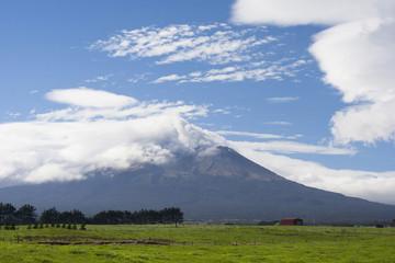 Mt Taranaki dormant volcano