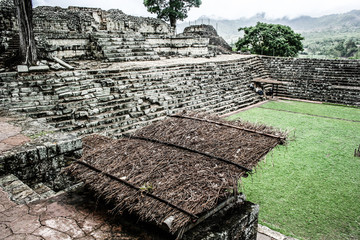 Temples in the Copan Ruinas, Honduras