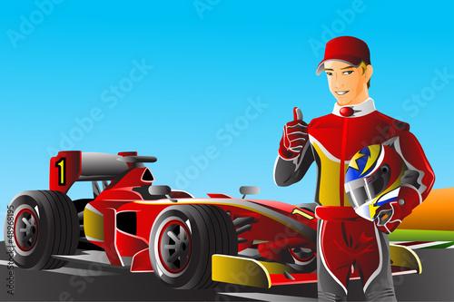 Race car driver - 48968195