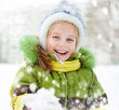girl winter vacation
