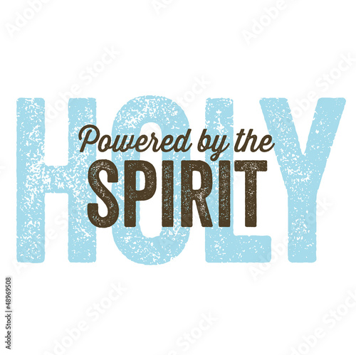 Vintage Christian design – Spirit