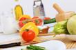 Fresh cut vegetables