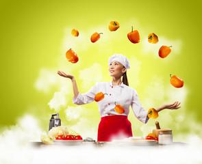 juggler female cook