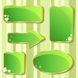 Emerald Saint Patrick's day sale stickers and tags