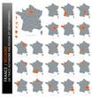 Carte de France (Régions)