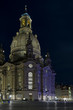 Frauenkirche Church Of Dresden At Night