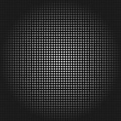 Schwarzer Hintergrund mit vielen weißen Punkten (endlos)