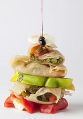 Fritella con verdure
