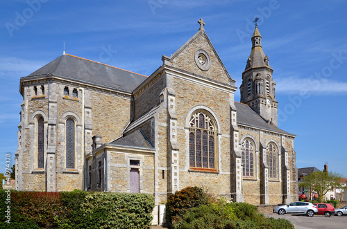 Church of Saint Michel-Chef-Chef in France