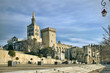 The Popes' Palace in Avignon, France
