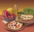 Pizza e piadina