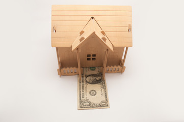 house on top of money by way of mortgage