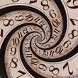 Leinwanddruck Bild Time spiral
