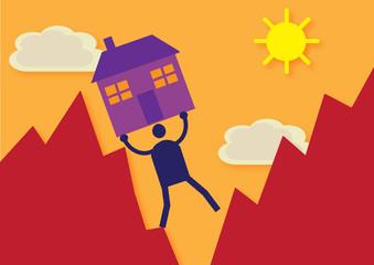 Property Market Mountain