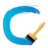 Blue round