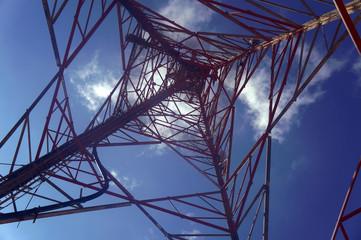 Antena na górze Pantokrator, wyspa Korfu