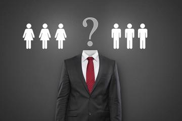 Wer solls machen? Mann oder Frau?