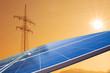 Strommast Solar