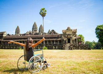 Travel in Wheelchair to Angkor Wat