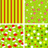 set of backgrounds for christmas