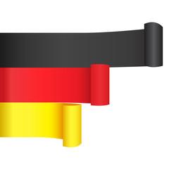 Banner mit deutschen Farben