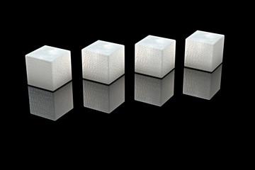 Würfelzucker - 3D render