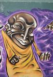Fototapete Ausdruck - Gesten - Graffiti