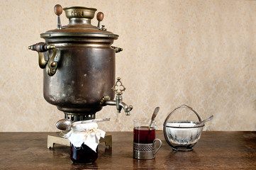 Retro samovar