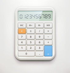 Electronic calculator