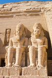 Statues of Ramesses II at the Great Temple of Abu Simbel, Egypt