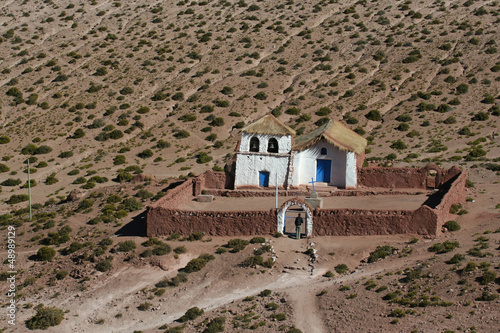 Altiplano church at Machuca