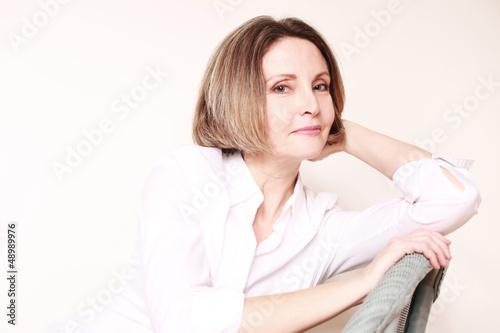 Poster Frau entspannt