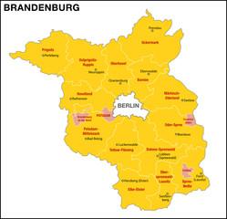 Brandenburg Landkreise