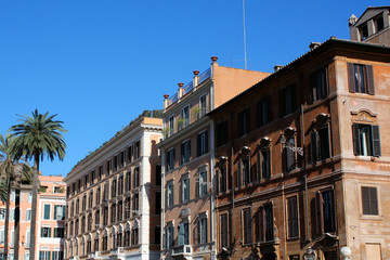 Palazzi in Rom