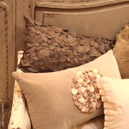 Interior designed cushions