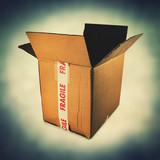 opened packaging