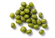 green soy beans isolated