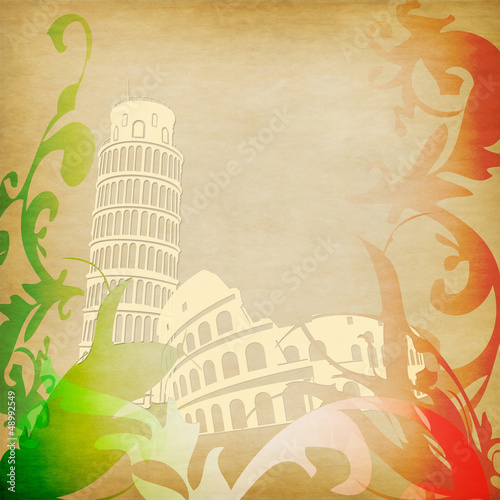 Italy background